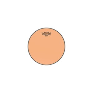 "REMO BE-0312-CT-OG PELLE BATTENTE/RISONANTE EMPEROR COLORTONE TRASPARENTE TOM 12"" ORANGE"