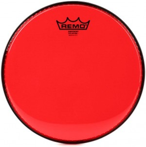 "REMO BE-0314-CT-RD PELLE BATTENTE/RISONANTE EMPEROR COLORTONE TRASPARENTE TOM 14"" YELLOW"