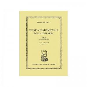 RUGGERO CHIESA TECNICA FONDAMENTALE DELLA CHITARRA VOLUME 2 - LE LEGATURE -