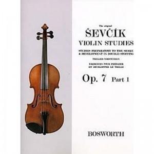 OTAKAR SEVCIK - THE ORIGINAL SEVCIK VIOLIN STUDIES OP. 7 PART 1 - VIOLINO