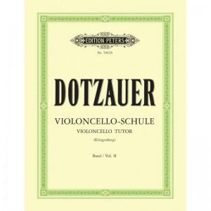 VIOLONCELLOSCHULE 2 - SPARTITI PER VIOLONCELLO - FRIEDRICH DOTZAUER - ED PETERS