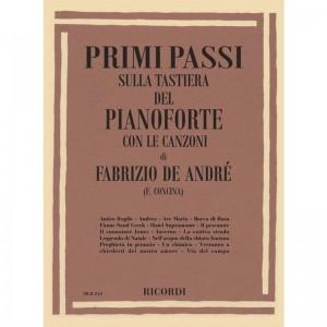 PRIMI PASSI SULLA TASTIERA DEL PIANOFORTE: FABRIZIO DE ANDRE' - F. CONCINA