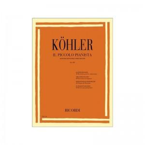 L. KÖHLER - IL PICCOLO PIANISTA OP. 189 - 40 RICREAZIONI PER PRINCIPIANTI
