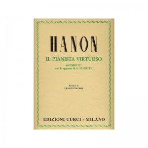 C. L. HANON - IL PIANISTA VIRTUOSO - ED. CURCI - PIANOFORTE