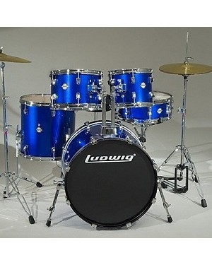 LUDWIG DIR ACCENT FUSION BLUE  LC1709