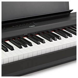 YAMAHA P125 BK BLACK PIANOFORTE DIGITALE