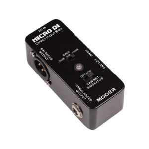 MOOER MICRO D.I. DIRECT INPUT BOX