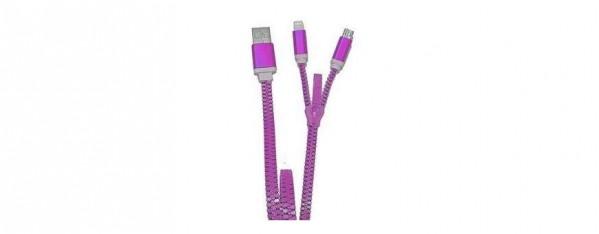 ZZIPP ZZACC1VE CAVO USB COLORE ROSSO
