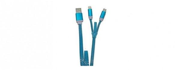 ZZIPP ZZACC1VE CAVO USB COLORE BLU
