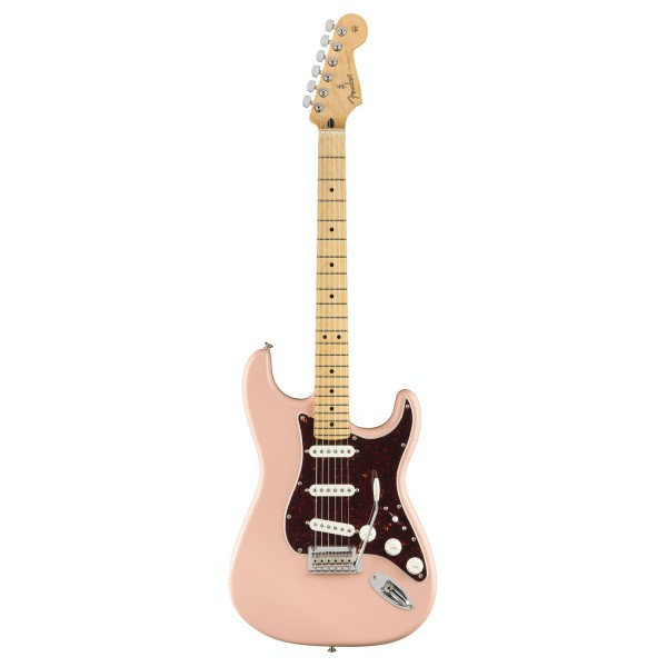 FENDER PLAYER STRATOCASTER LIMITED EDITION SHELL PINK MN TORTOISE